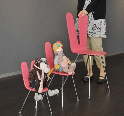 ghế uốn cong bằng gỗ ván lạng