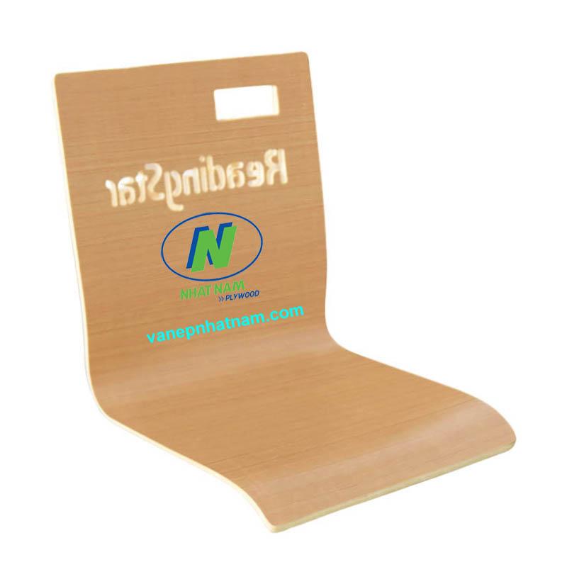 Lưng ghế uốn gỗ veneer 1