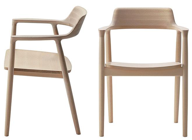ghế gỗ uốn cong