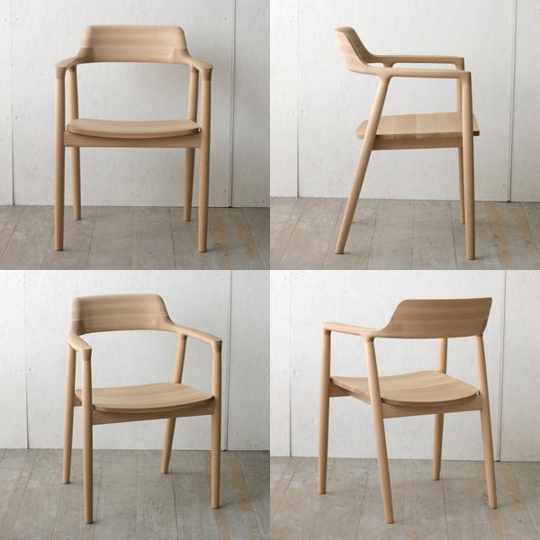 ghế uốn cong bằng gỗ ván ép