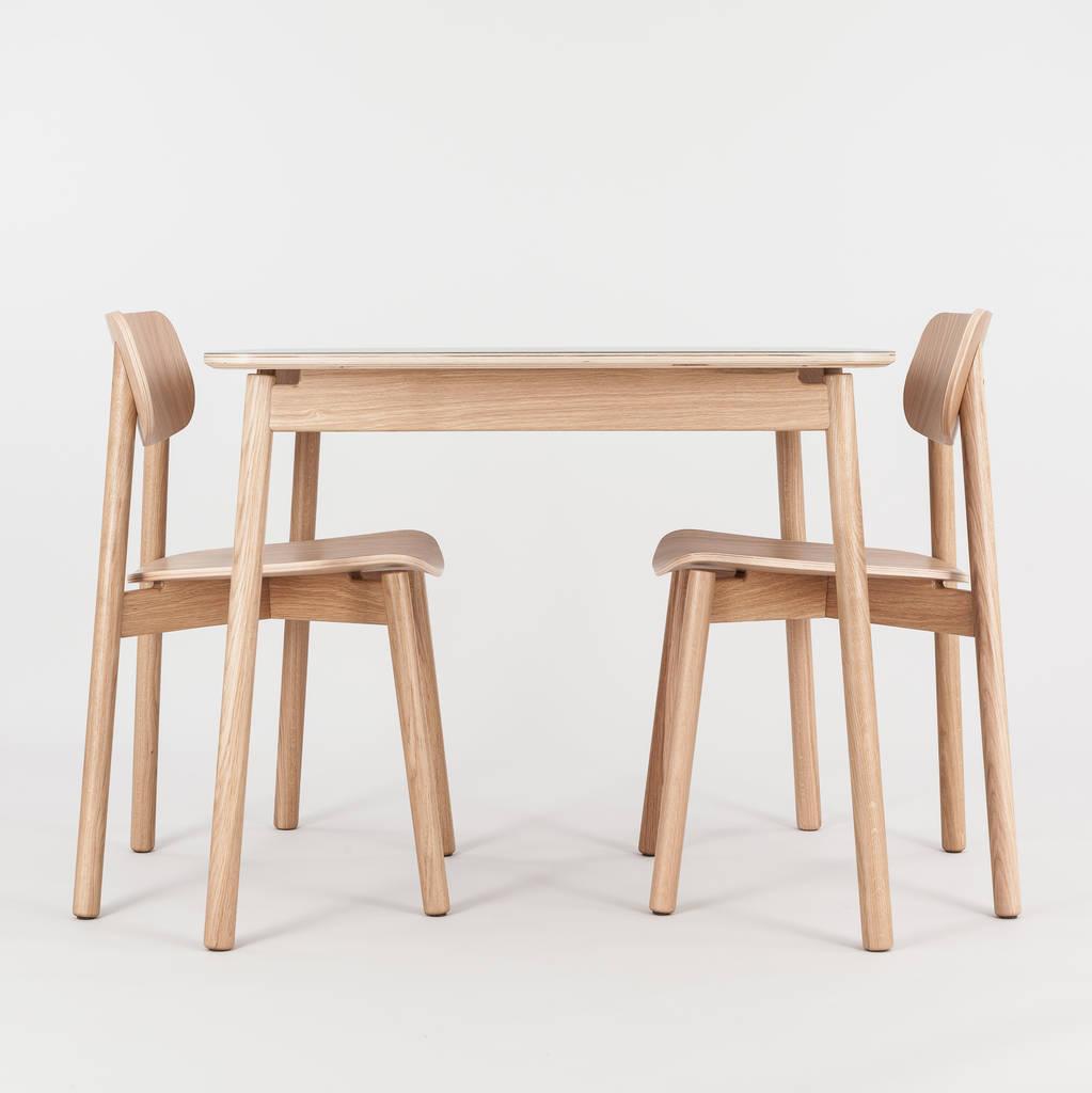 ghế gỗ ván ép uốn cong